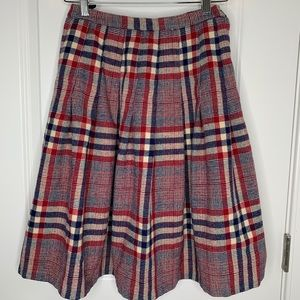 Vintage 50's Peck and Peck Fifth Ave Plaid Skirt